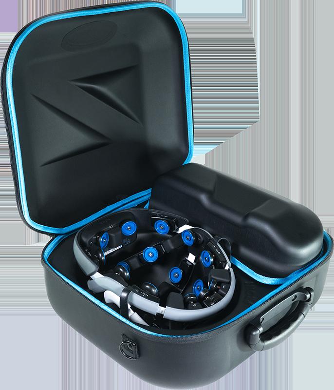 Zeto EEG Monitoring Device Box Suitcase Open