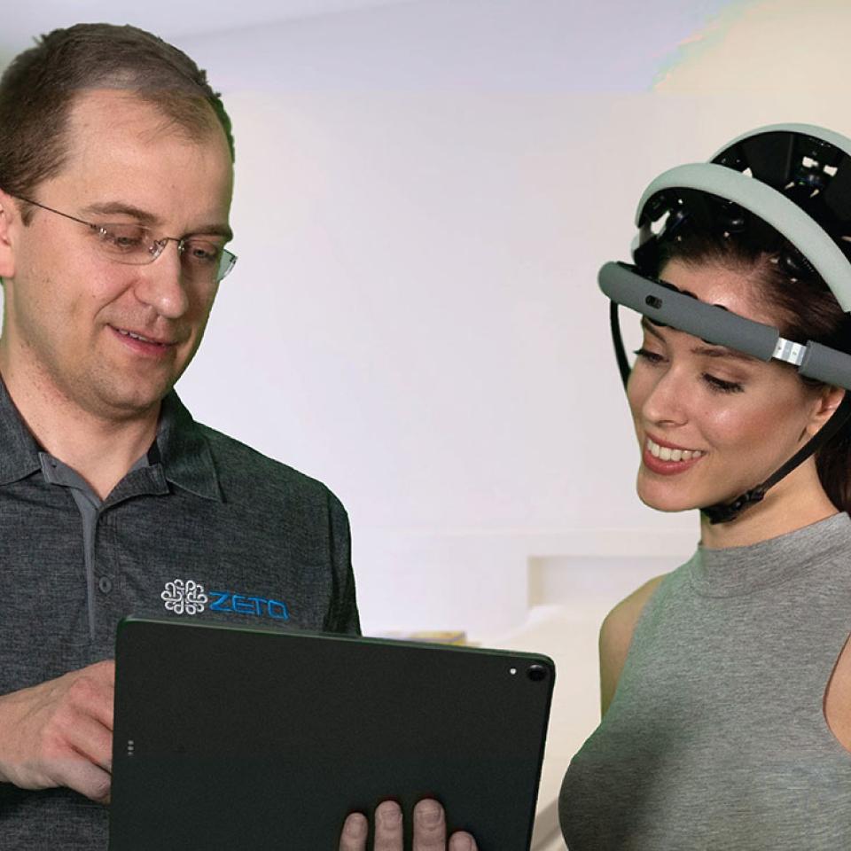 Zeto EEG Helmet For Adults