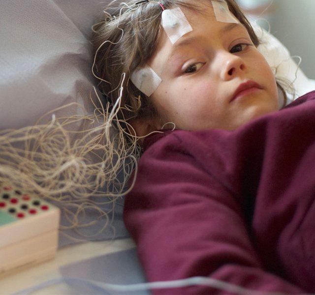 Traditional Wired EEG Headset