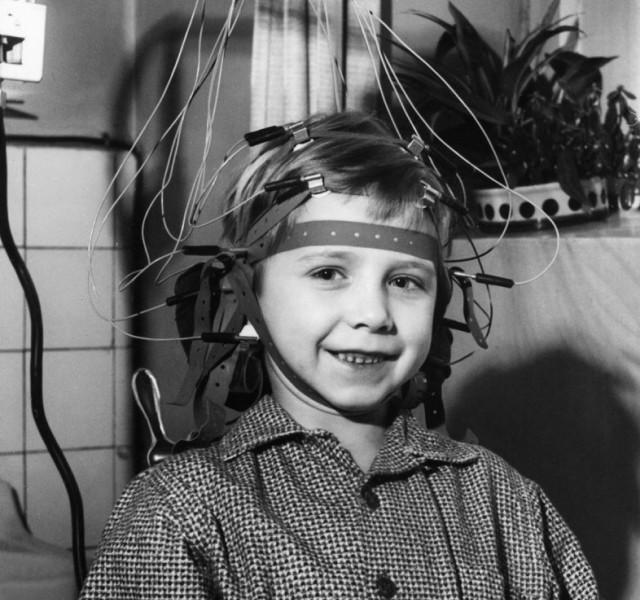 Wired EEG Headset