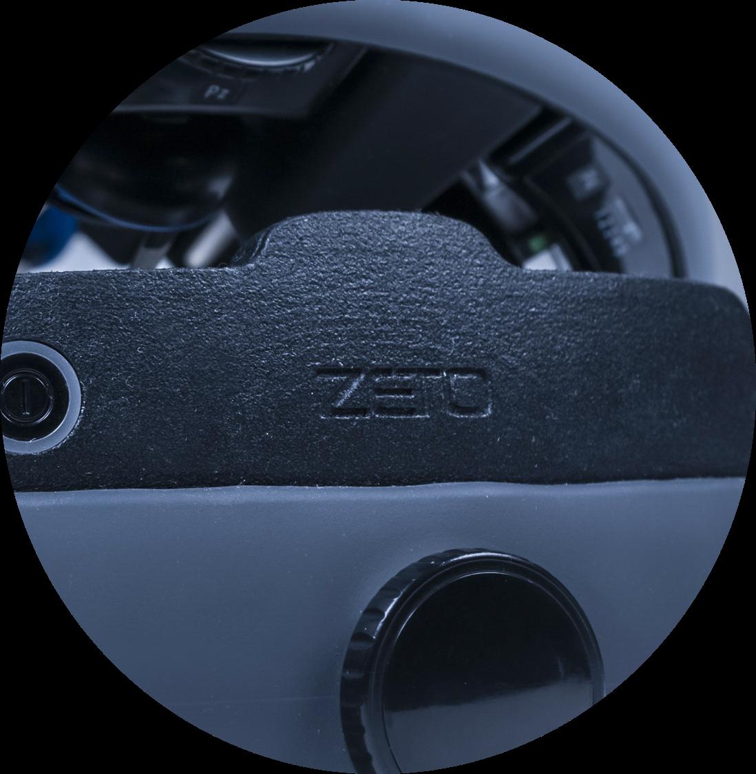 High-Resolution Digital Signal | Zeto Dry EEG Headset Component