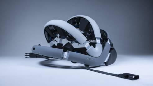 Zeto Wearable Dry EEG Headset   Side view