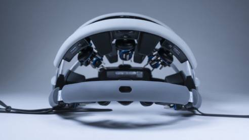 Zeto Wearable Dry EEG Headset   Back view