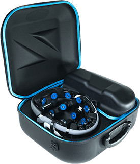 Zeto's EEG Monitoring Device Suitcase | Open