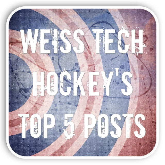 Weiss Tech Hockey's Top 5 Most Popular Posts of All Time