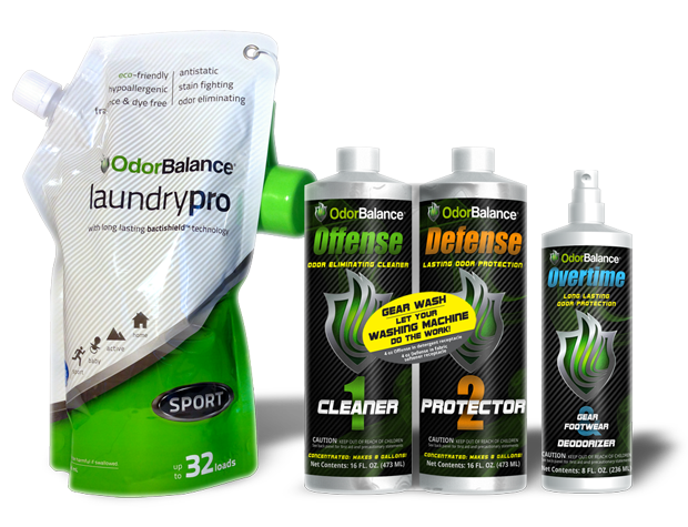 Looking for a Solution to Stinky Gear? Check out OdorBalance