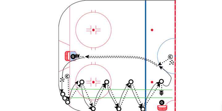 ZigZag Touch Pass – Quarter Ice