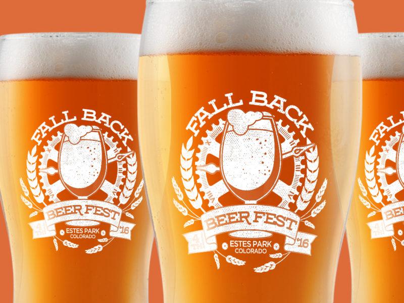 Fall Back Beer Fest Glasses