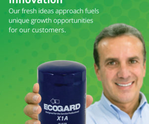 ecogard print ad design by matt wilson