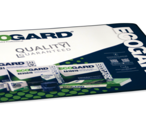 ecogard quality guaranteed counter mat designed by matt wilson
