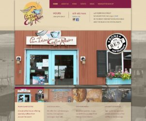 plum island coffee roasters web design by matt wilson