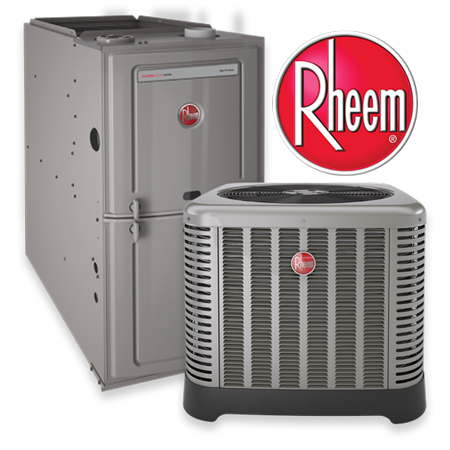 Rheem Furnace and Air Conditioner