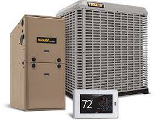 Luxaire Furnace Air Thermostat combo