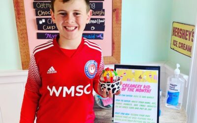 Creamery Kid of the Month May 2021