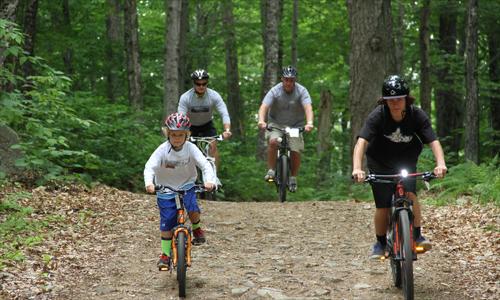 Biking in Waterville Valley