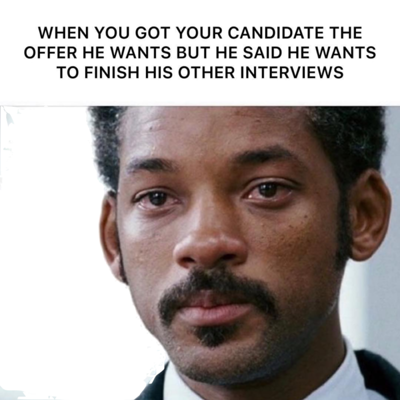 Recruiting is tough. Let's look at memes!