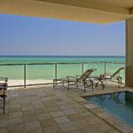 pool - beach view