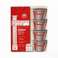 Straight Request Sensitive Scalp Red | 4 Pack
