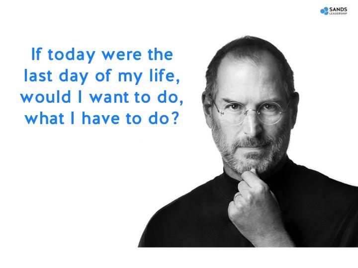 Steve Jobs - The Engagement Question
