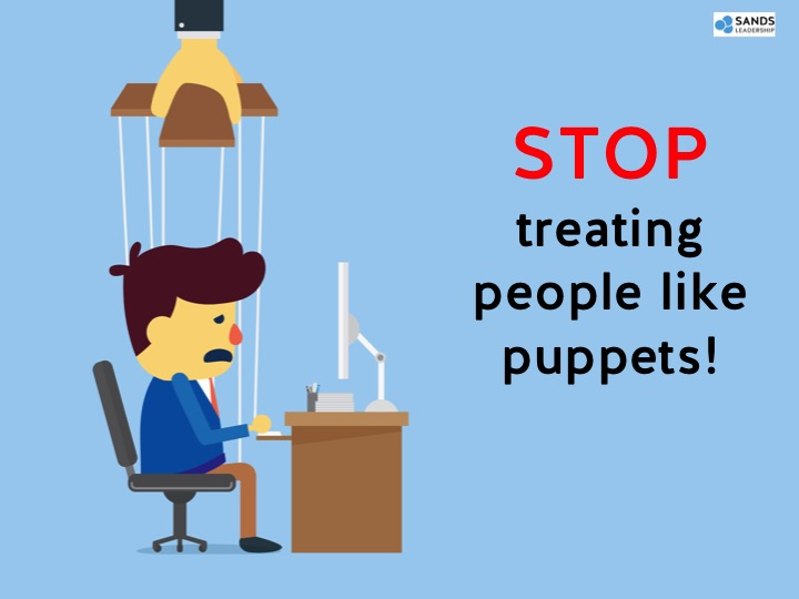 You can't solve engagement by treating people like puppets