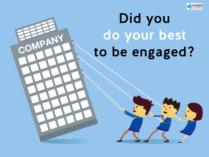 A better approach to engagement: get everyone to pull their own weight