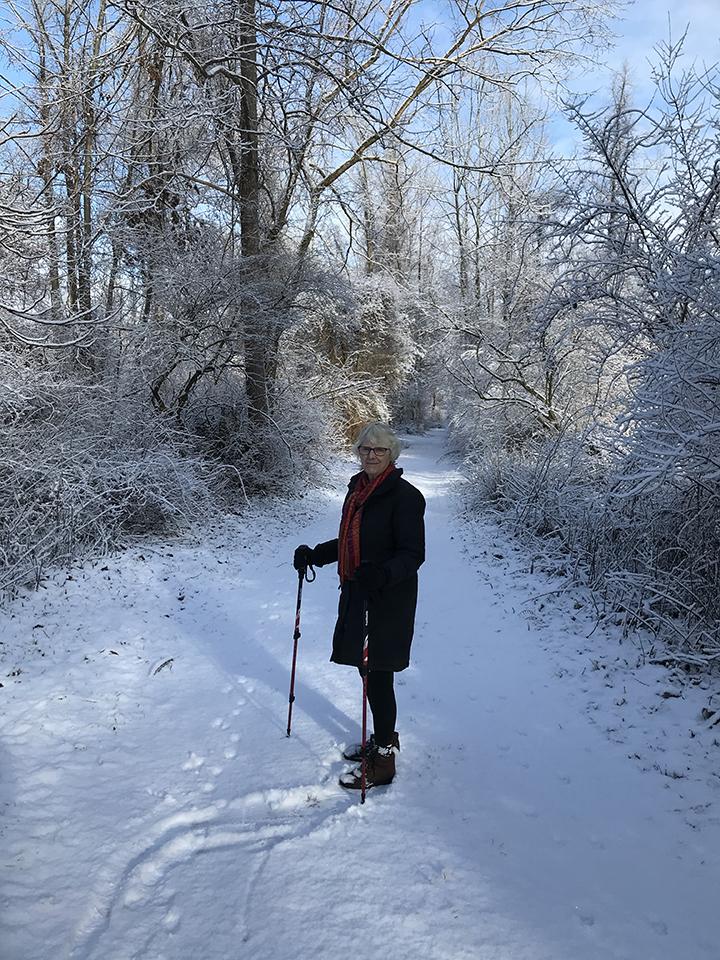 Snowy Exercise