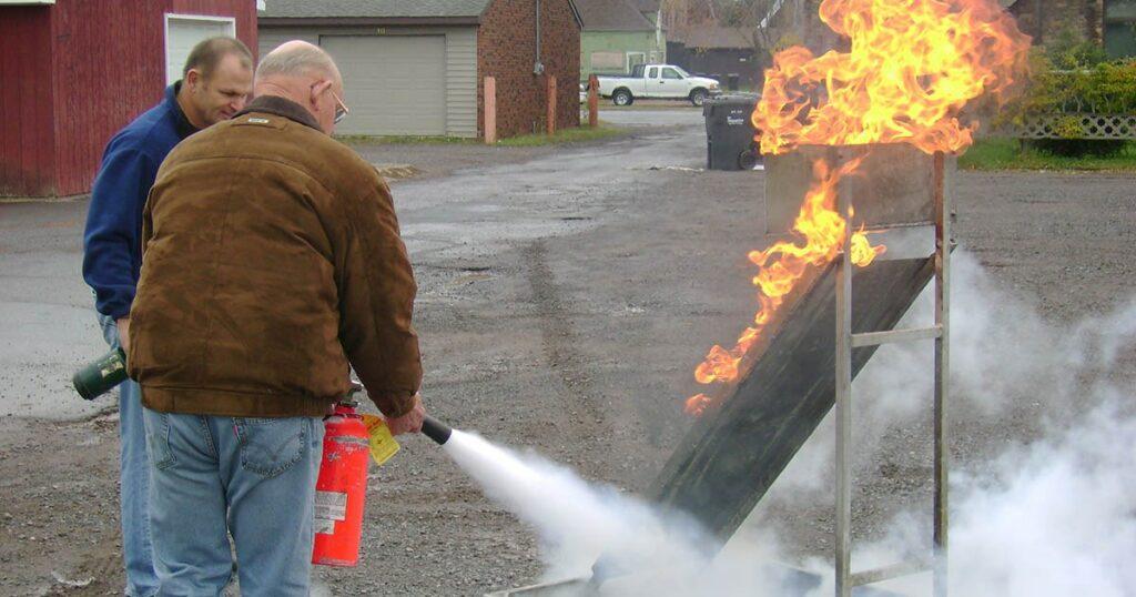 fire extinguisher training