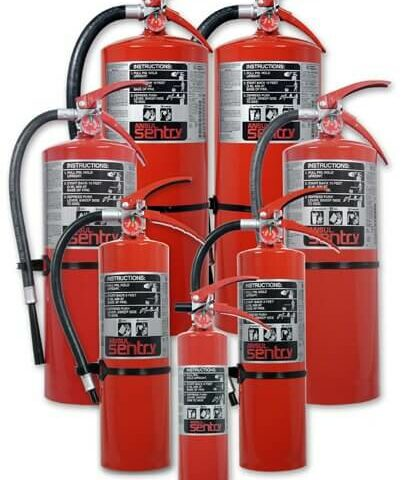 ansul sentry fire extinguisher group