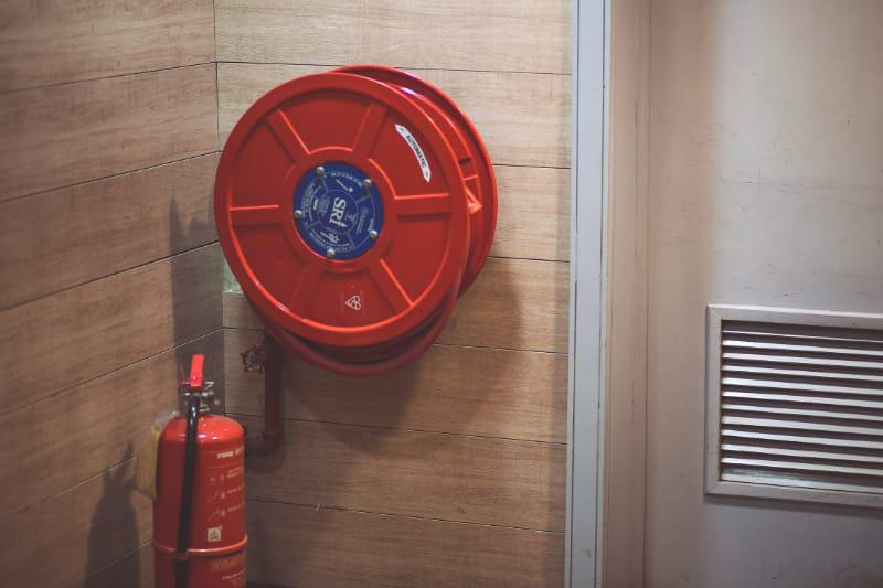 fire extinguisher station
