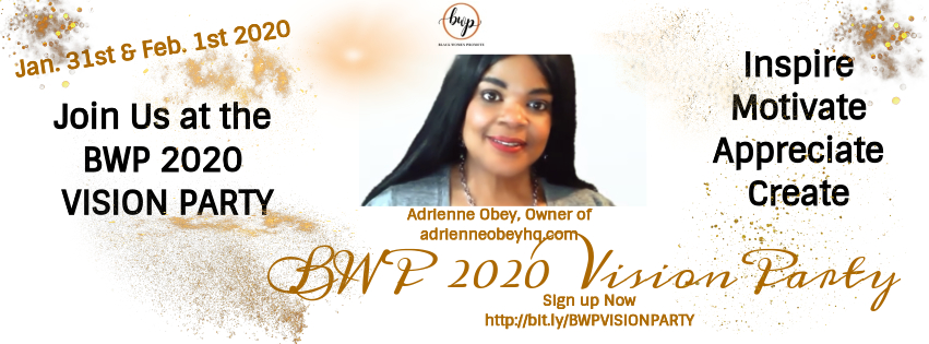 BWP 2020 VISION PARTY