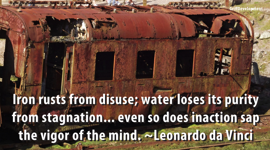 confidence meme Leonardo da Vinci