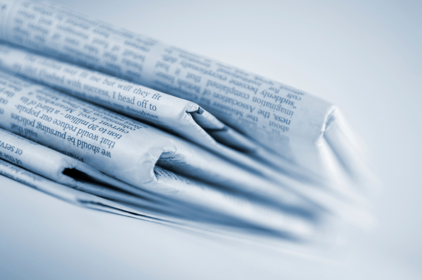 newspapers dealing with executives