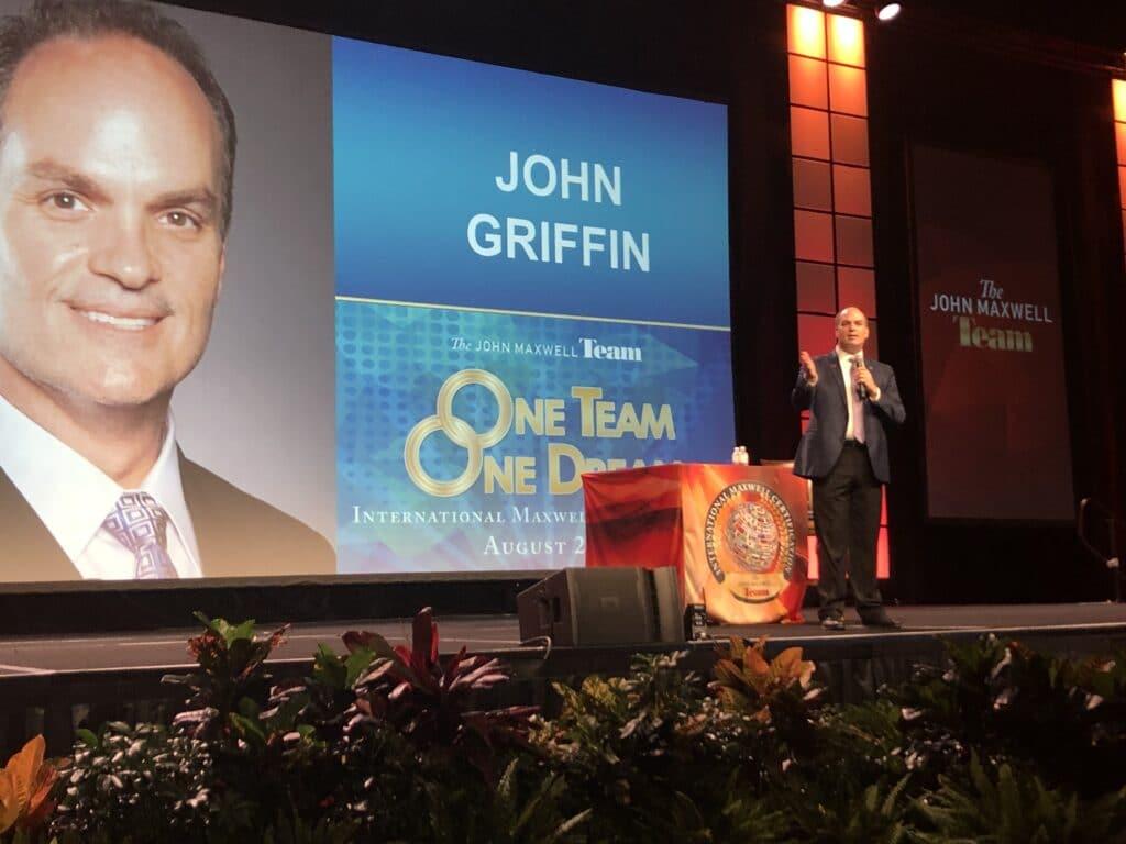 confidence speaker John Griffin
