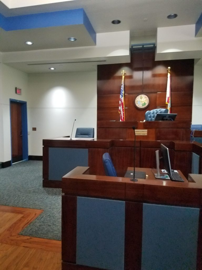 Leon County Courthouse Courtroom 2A
