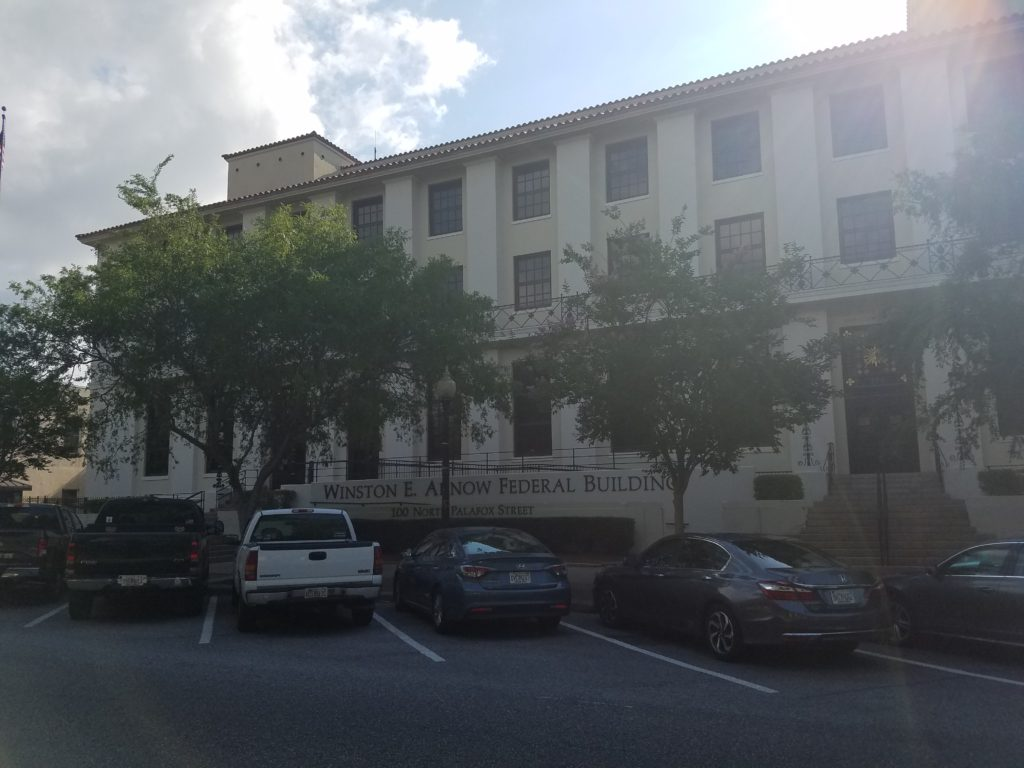 US Bankruptcy Courthouse - Pensacola