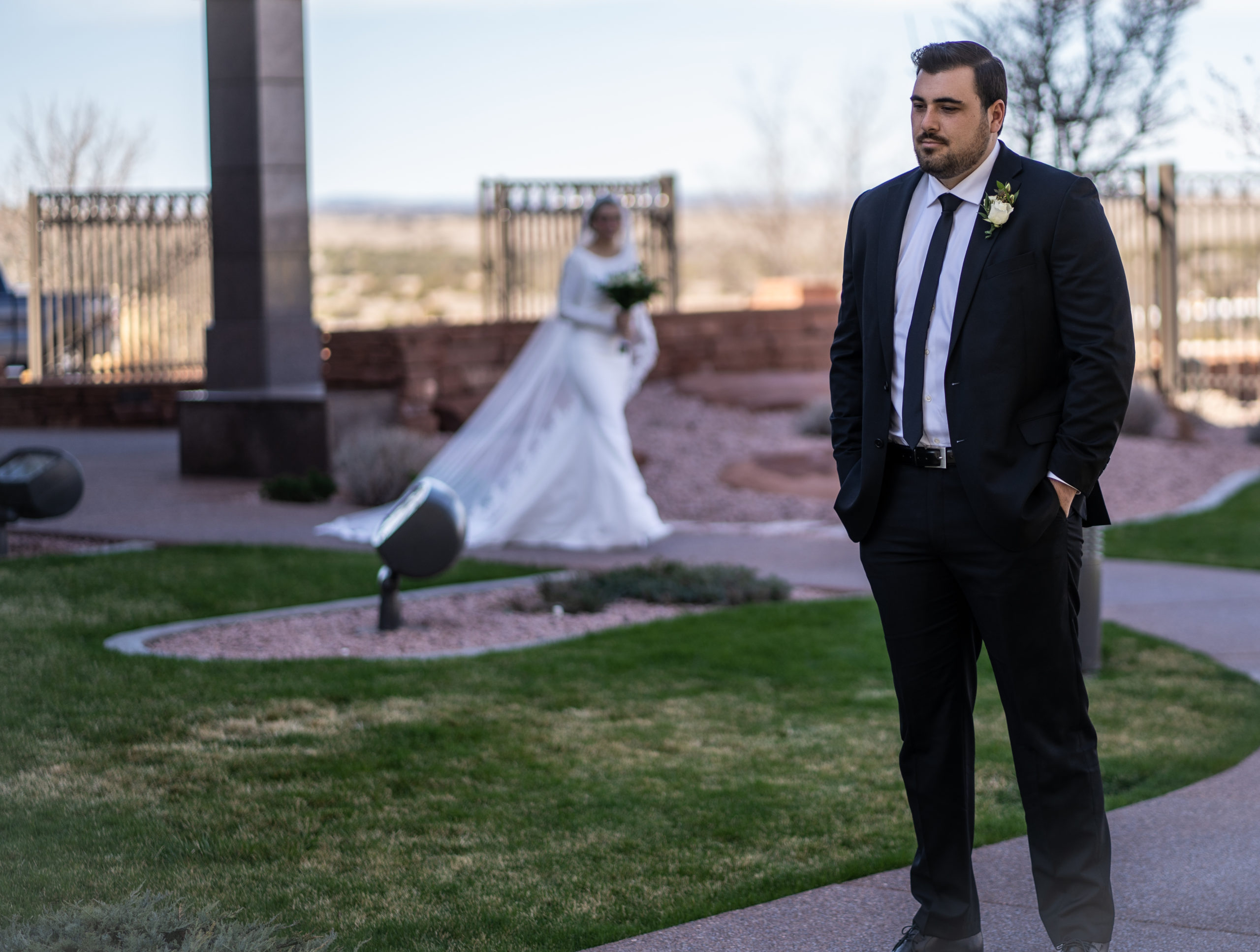 snowflake arizona lds temple wedding