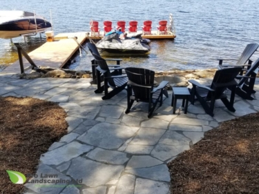 Cottage, Natural Stone Patio