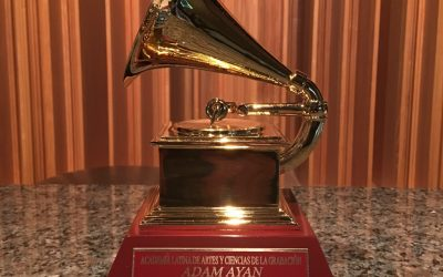 Adam Ayan's latest Latin Grammy has arrived!