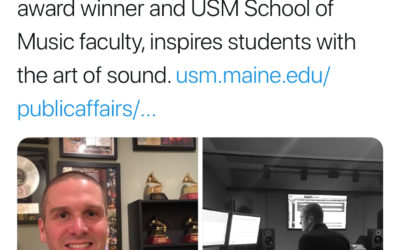 The University of Southern Maine recently published an article on Adam Ayan's Adjunct Faculty work at their School of Music.