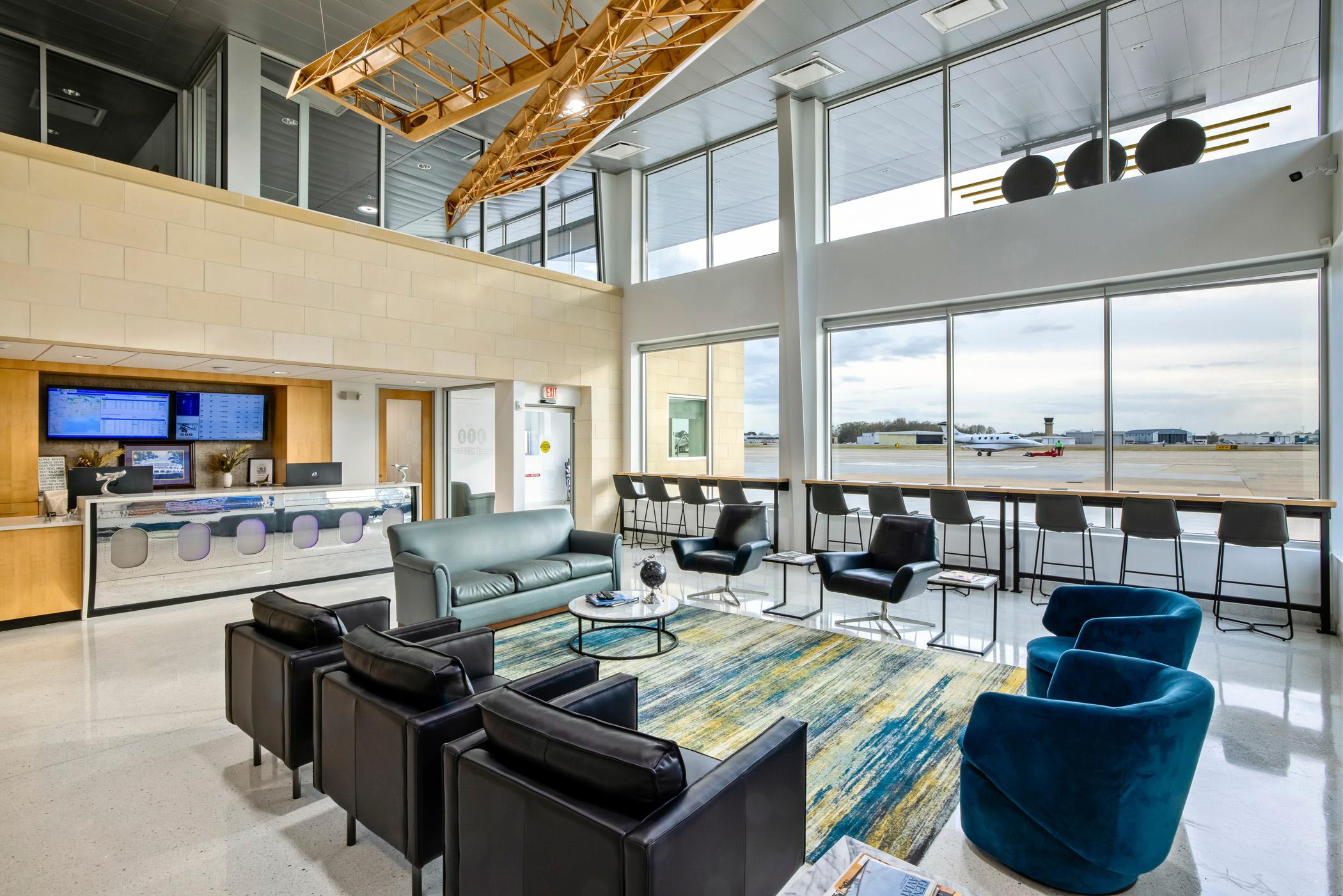 BTR Jet Center - Customer Lounge