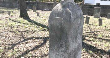 Perdue Cemetery located off Osborne Road in Chester.