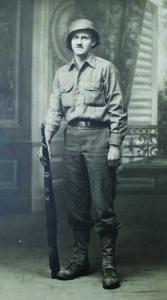 Delmer Farmer during WWII