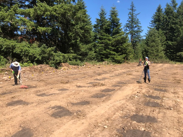 Global Green Sciences Cottage Grove Oregon Farm Field Clearing