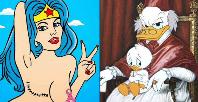 10+ Controversial Cartoon Images & The Life Lessons They Teach