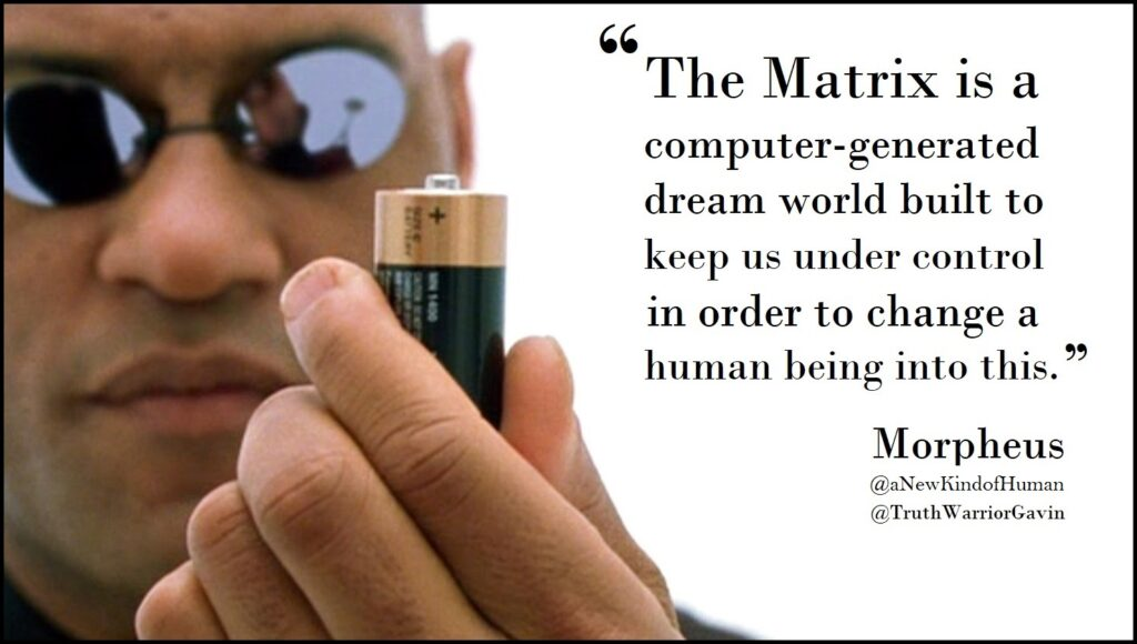 what is the matrix morpheus quote