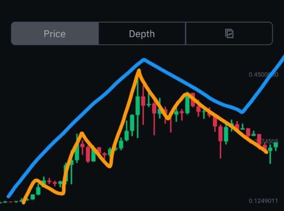 DOGE chart with Elliot Wave April 17th 2021