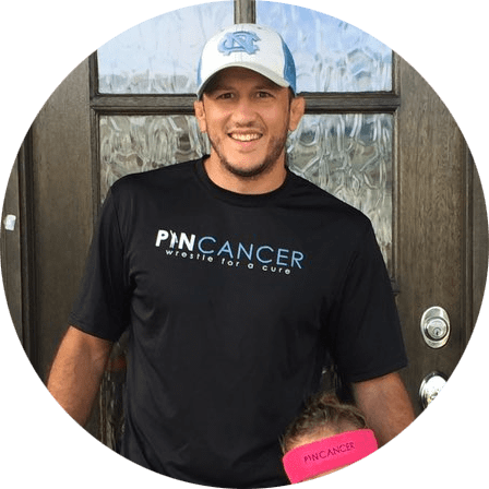 coleman scott wrestling pin cancer