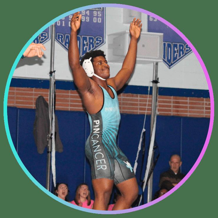 pin cancer wrestler