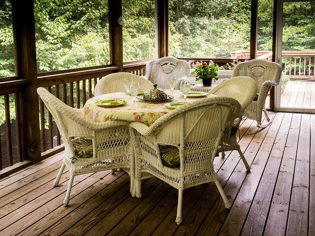 Dressing up the deck – paint, stain, or both?