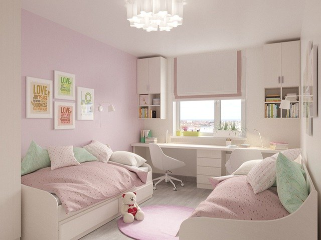 Choosing paint colors for kid's rooms